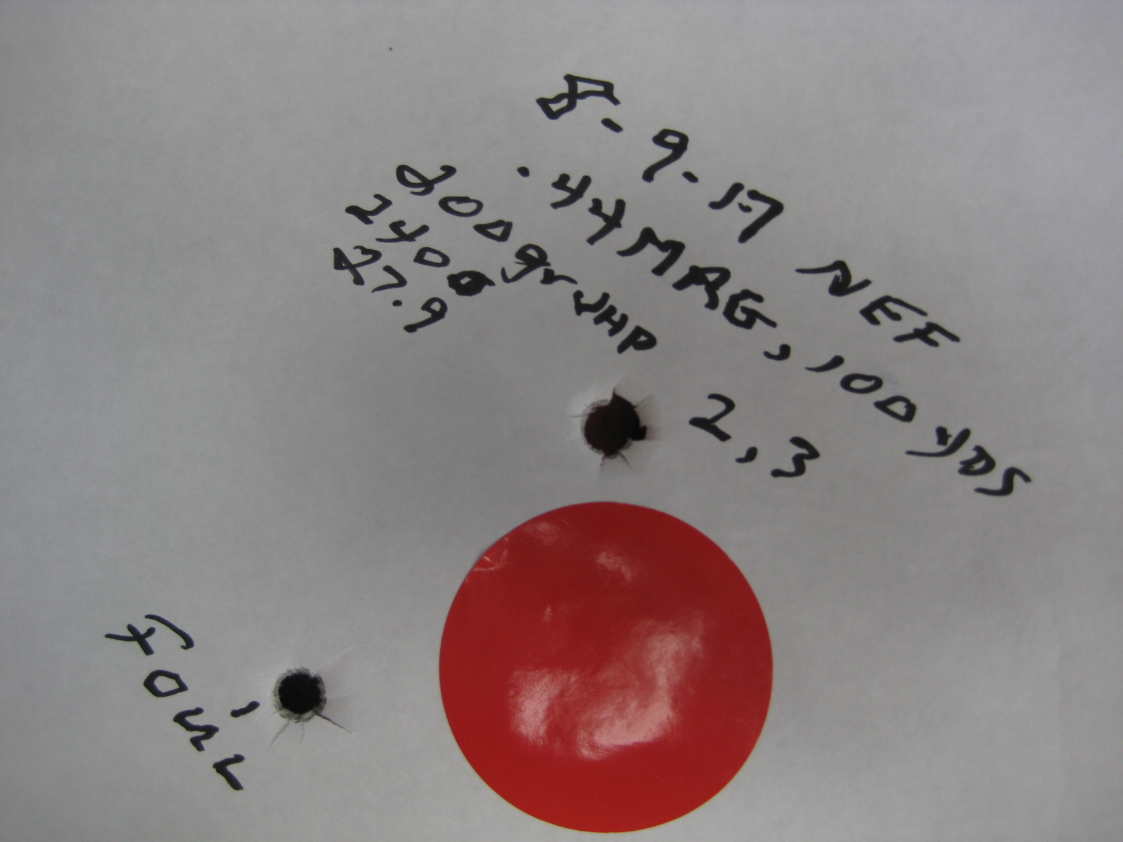 Checking NEF single shot  44mag  - Field and Stream Questions and